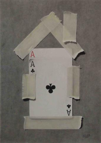 house_of_cards_5____6_x_8_14__graphite_carbon_colored_pencil_pastel_2015.jpg